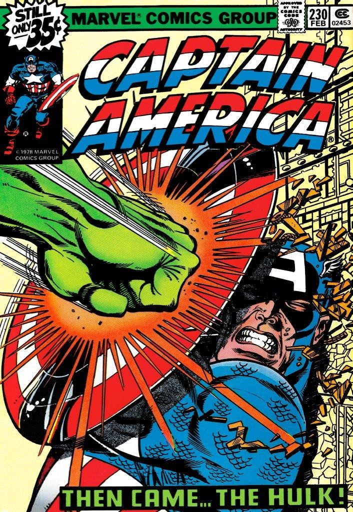 Image of Captain America Then Came The Hulk 2017