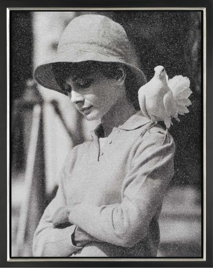 Image of Hepburn with Dove