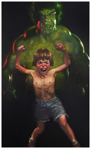 Dr Bruce Banner is Bathed in the Full Force of the Mysterious Gamma Rays | Craig Davison image