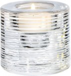Glimmer Hurricane White Stripe Votive image