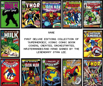 Marvel deluxe Box Set of 12 - 2015 image
