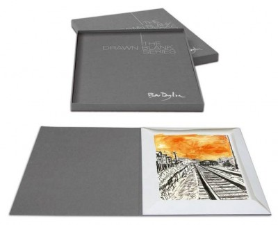 The Drawn Blank Series (2008) Set of 3 Portfolios | Bob Dylan image