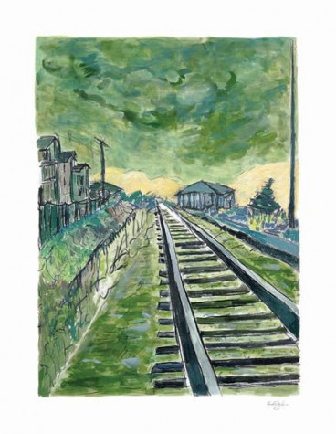 Train Tracks - Green (2012) | Bob Dylan image