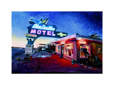 Blue Swallow Motel, Route 66 (2019) | Bob Dylan image