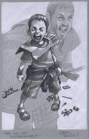 Are You Not Entertained? Sketch | Craig Davison image