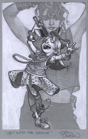 Get Into The Groove Sketch | Craig Davison image
