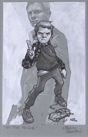 No Tim To Die Sketch | Craig Davison image