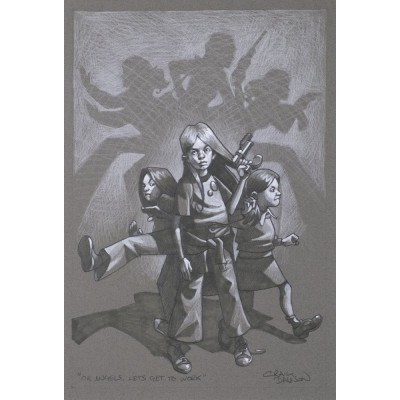 Ok Angels, Lets Get To Work - Sketch (Charlie's Angels) | Craig Davison image