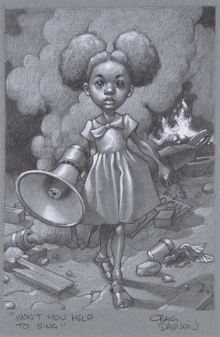 """Won't You Help To Sing?"" Sketch 