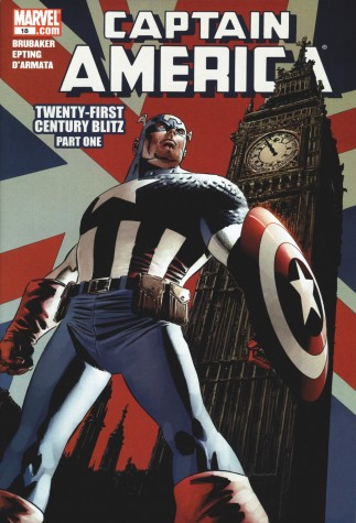 Captain America #18 - Twenty-First Century Blitz | Signed by Stan Lee image