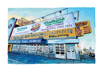 Clam Bar, Surf Avenue (2017) | Bob Dylan image