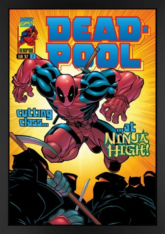 Deadpool #2 - Cutting Class At Ninja High! - Canvas Edition image