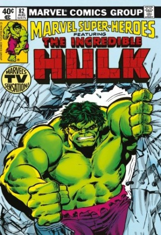 Marvel Super-Heroes Featuring the Incredible Hulk #82 Marvels TV Sensation Canvas image