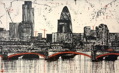 London's Rising - Original Paul Kenton | WAS £4500 image