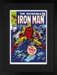 Signed Stan Lee The Invincible Iron Man #1 Big Premiere Issue image