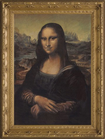 Mona Lisa in the Style of Leonardo Da Vinci image