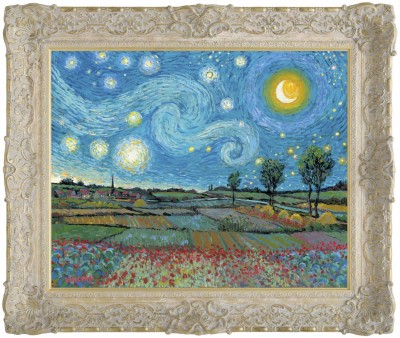 Starry Night with New Day Dawning image
