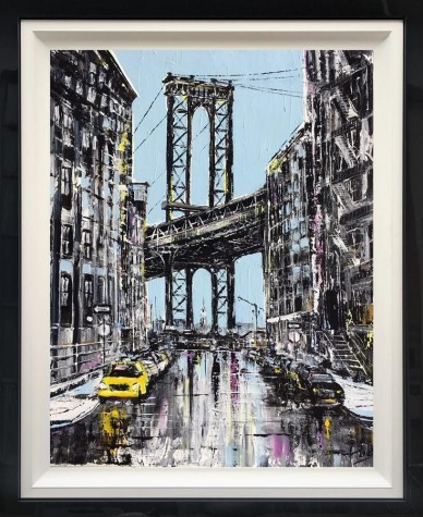 Mighty Manhattan | Original Painting By Artist Abe image
