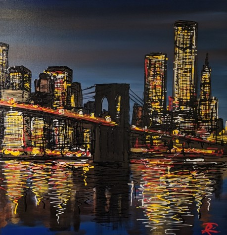 New York Nights - Original | Paul Kenton | WAS £2050 image