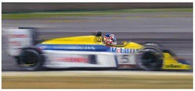 On The Limit - Nigel Mansell | Anthony Dobson image