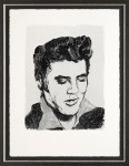 Elvis by Ronnie Wood image