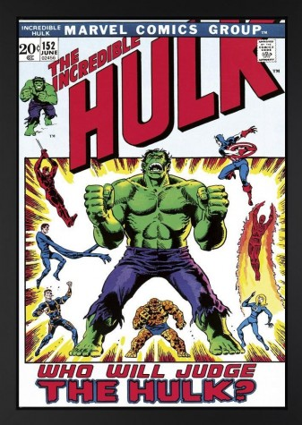 The Incredible Hulk #152 - Who Will Judge The Hulk? (Lou Ferrigno & Stan Lee Signed) image
