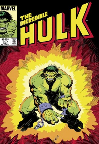 Signed Stan Lee The Incredible Hulk #307 image