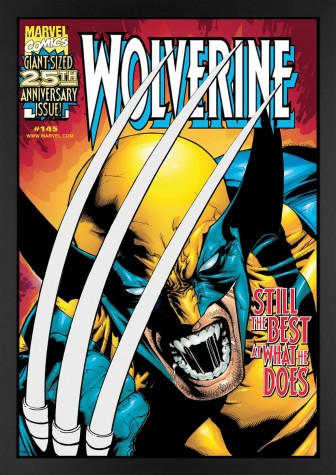 Wolverine #145 - Still The Best At What He Does - Canvas Edition image