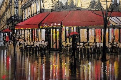 Cafe Nights - Original Paul Kenton | WAS £3350 image