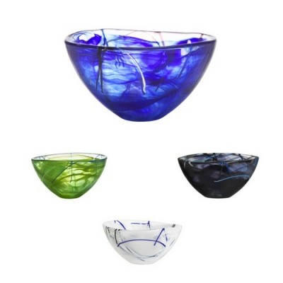 Small Contrast Bowl Various Colours by Anna Ehrner image