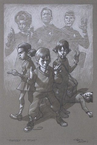 Phasers To Stun - Sketch (Star Trek) | Craig Davison image