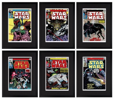 Signed Stan Lee Star Wars Collection – Set of 6 Paper image