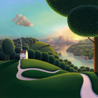 High Above The Estuary | Paul Corfield image