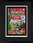 The Avengers #1 – Earth's Mightiest Super-Heroes! - Giclee on Paper (LOW AVAILABILITY) image