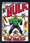 The Incredible Hulk #152 – Who Will Judge The Hulk? Boxed Canvas image