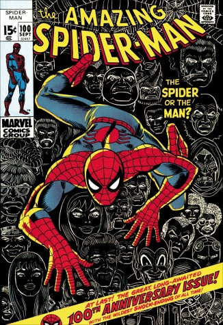 The Amazing Spider-Man #100 - The Spider Or The Man? - Boxed Canvas (LOW AVAILABILITY) image