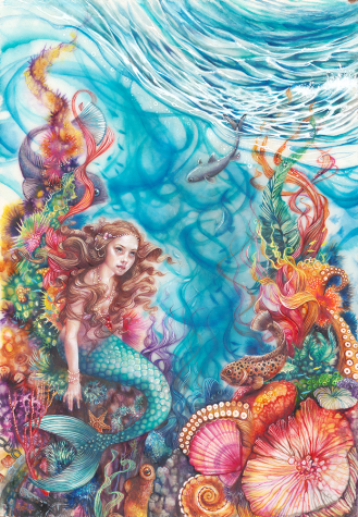 Little Mermaid - Kerry Darlington image